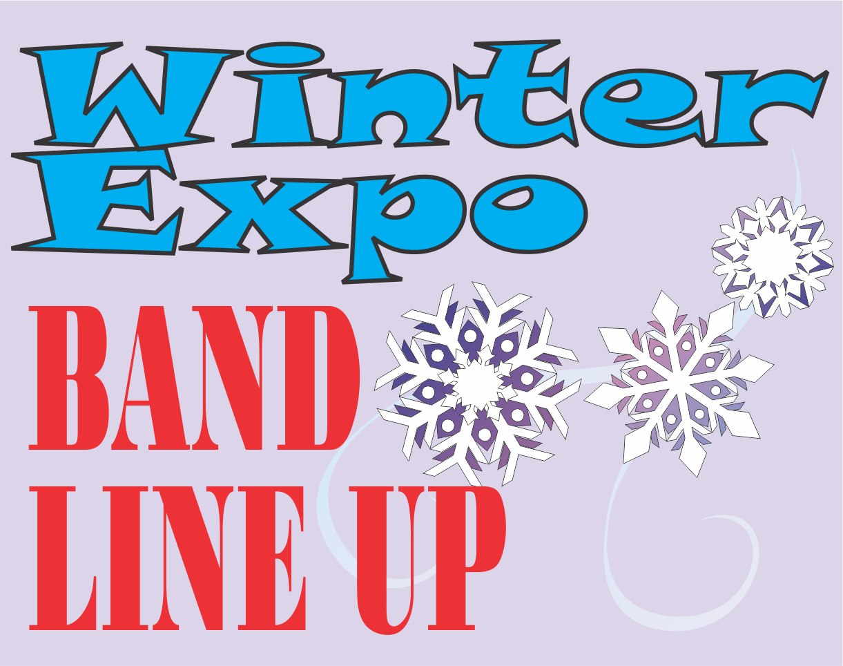 band line up banner